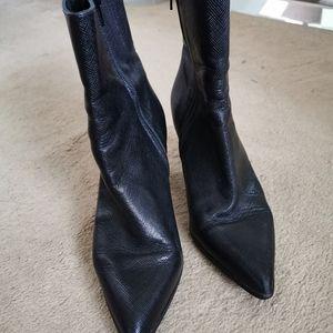 Black Tall Booties